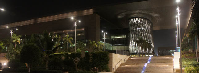 KAUST at night
